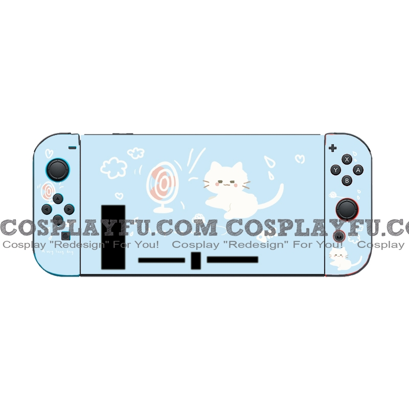 Blue Cat Nintendo Switch Protection Cover -TPU