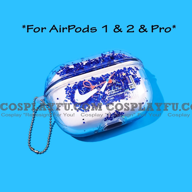 Cute Nike Logo Airpod Case Silicone Case For Apple Airpods 1