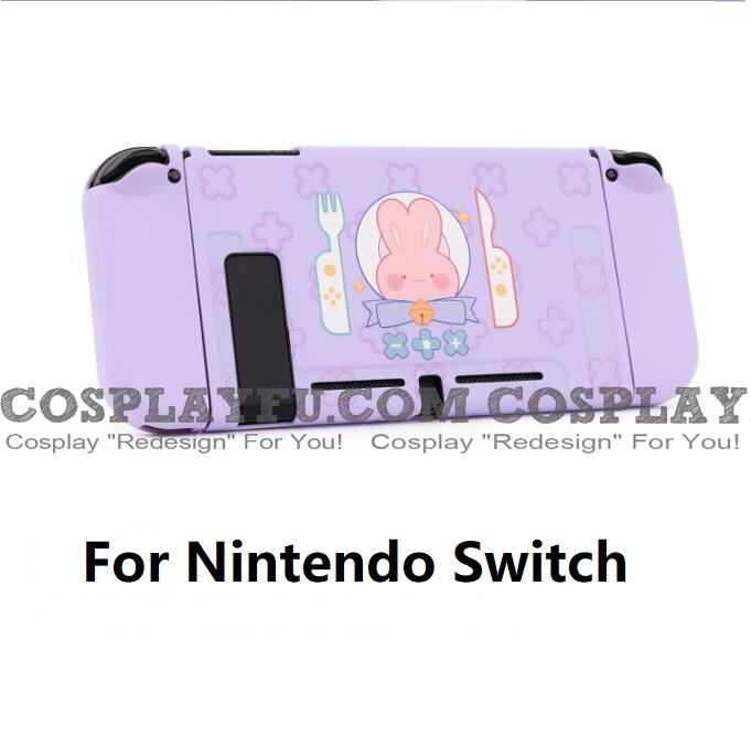 Blue Bunny Nintendo Switch Protection Cover -TPU