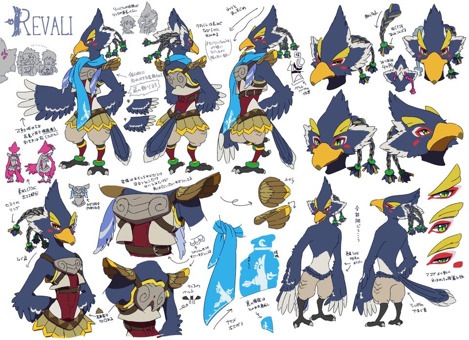 Revali Cosplay Costume from The Legend of Zelda