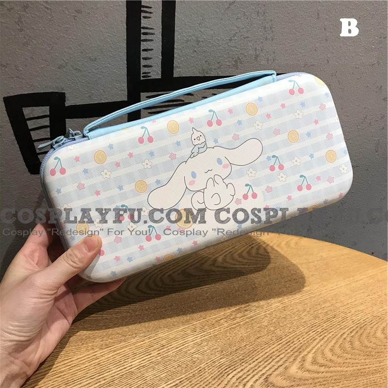Cute Cartoon Nintendo Switch Carrying Case - 12 Game Cards Holding Косплей (80831)