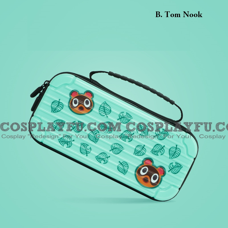 Nintendo ACNH Animal Crossing Switch Carrying Case 10 ゲーム Cards Holding コスプレ (81131)