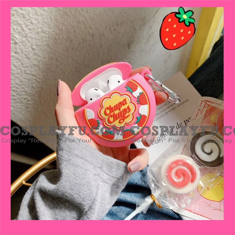 Lovely Chupa Chups Lollipops | Silicone Case for Apple AirPods 1, 2, Pro