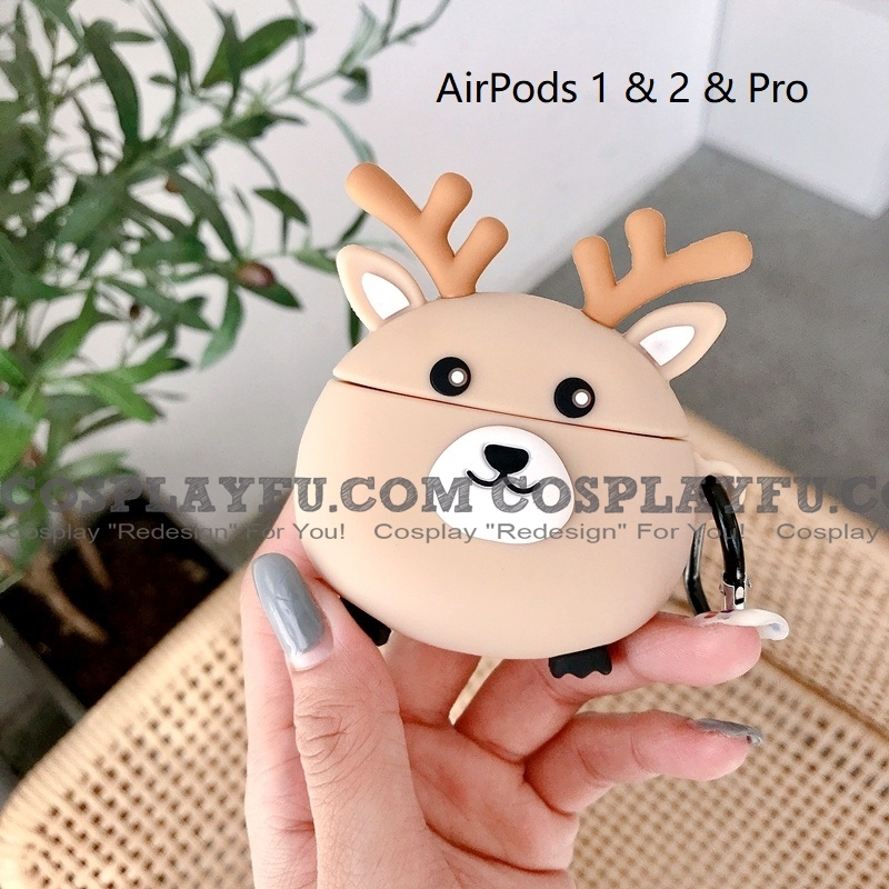 Deer | Silicone Case for Apple AirPods 1, 2, Pro