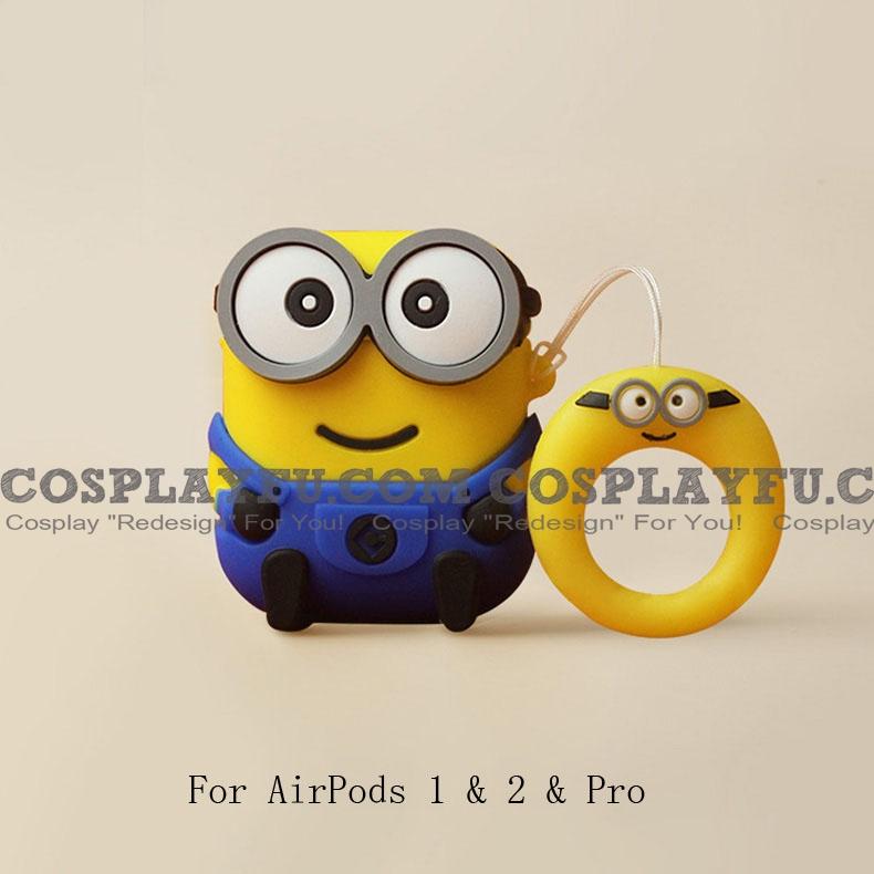 Cute Minions | Silicone Case for Apple AirPods 1, 2, Pro