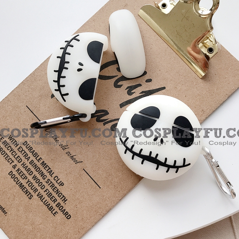 Halloween Face Silicone Case for Apple AirPods 1, 2, Pro (81269)