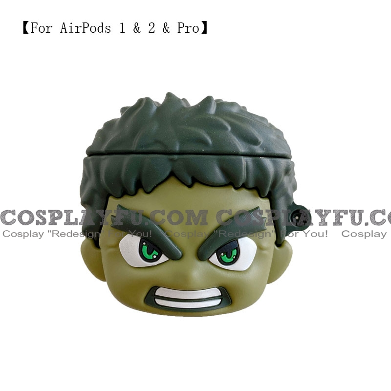 Angry Hulk | Airpod Case | Silicone Case for Apple AirPods 1, 2, Pro (81452)