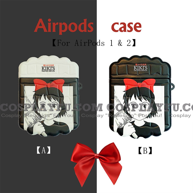 Lovely Kiki's Delivery Service | Airpod Case | Silicone Case for Apple AirPods 1, 2, Pro Cosplay (81497)