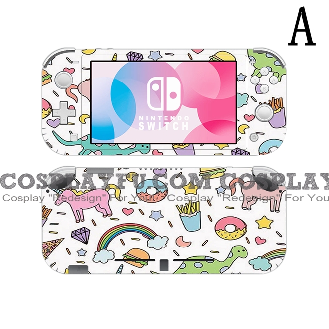 Lite Skin Dinosaur - Nintendo Switch Lite Decal NS Skin Sticker (81526)