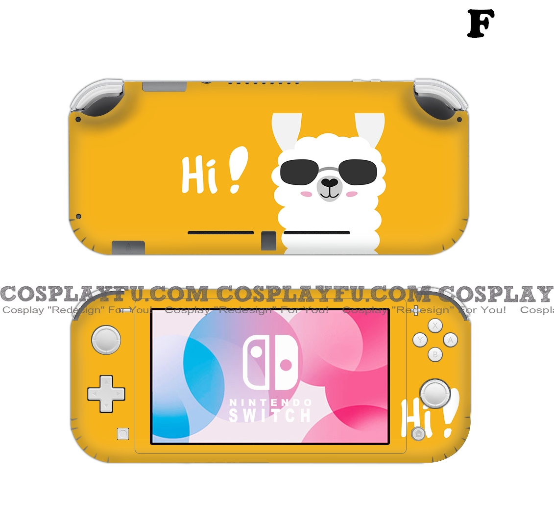 Lite Skin Alpaca - Nintendo Switch Lite Decal NS Skin Sticker