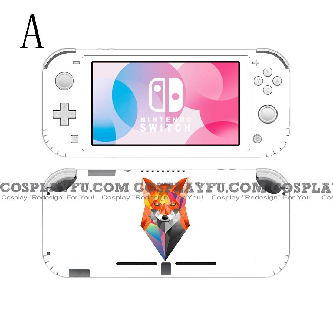Lite Skin Fox - Nintendo Switch Lite Decal NS Skin Sticker (81553)