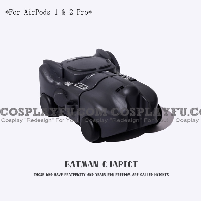 Lovely Batman Chariot | Airpod Case | Silicone Case for Apple AirPods 1, 2, Pro (81554)