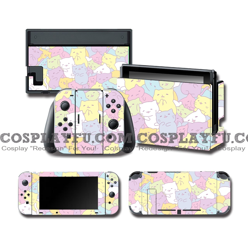 Nintendo Switch Decal NS Skin Sticker (81575)