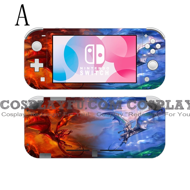 Lite Skin Dragon - Nintendo Switch Lite Decal NS Skin Sticker