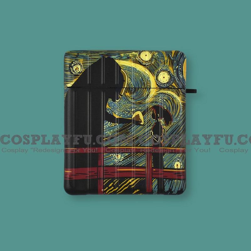 Lovely Spirited Away Art | Airpod Case | Silicone Case for Apple AirPods 1, 2, Pro (81587)
