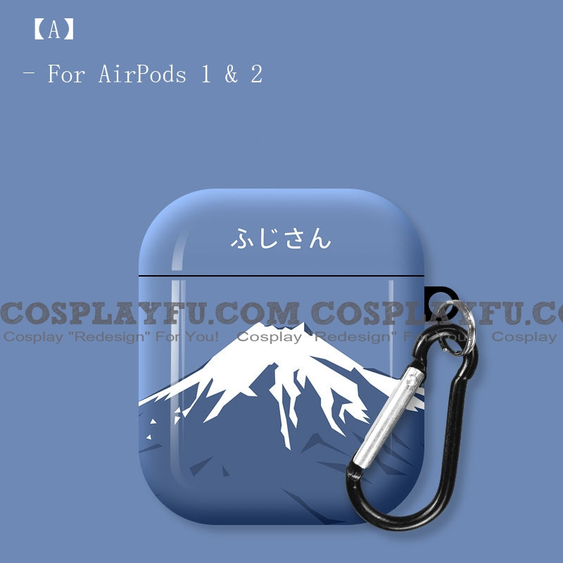 Art Mount Fuji | Airpod Case | Silicone Case for Apple AirPods 1, 2, Pro (81588)
