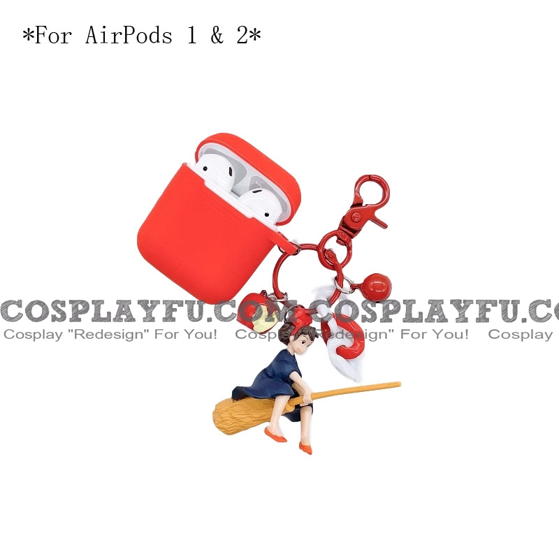 Lovely Kiki's Delivery Service | Airpod Case | Silicone Case for Apple AirPods 1, 2, Pro (81638)