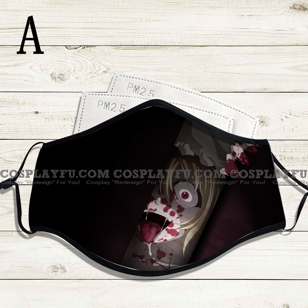 Reusable Washable Adjustable Adult Kids Face Mask • Horror • Cotton • Lovely Animal with Filter Pocket Nose Wire