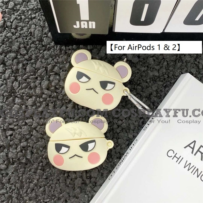 Lovely Marshal Animal Crossing | Airpod Case | Silicone Case for Apple AirPods 1, 2, Pro (81645)