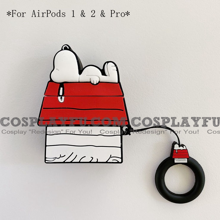 Lovely Snoopy House | Airpod Case | Silicone Case for Apple AirPods 1, 2, Pro (81660)