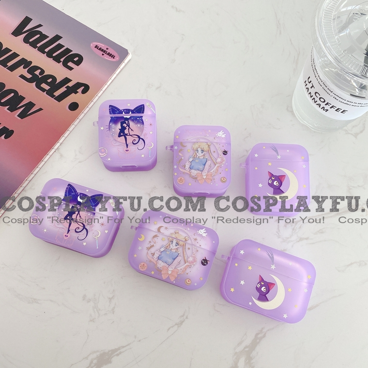 Cute Sailor Moon | Silicone Case for Apple AirPods 1, 2, Pro (81693)