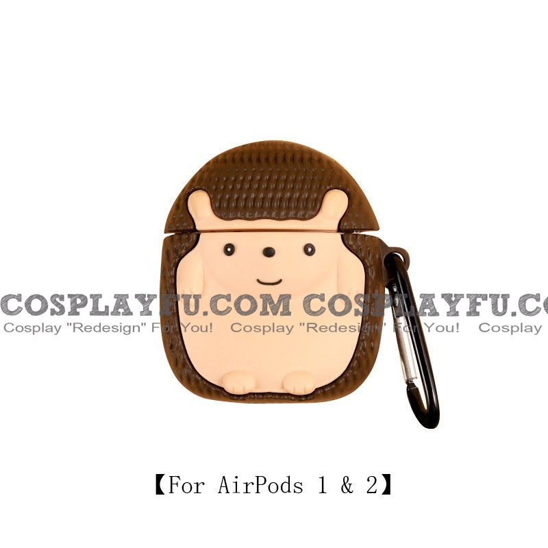 Lovely Hedgehog | Airpod Case | Silicone Case for Apple AirPods 1, 2, Pro (81751)