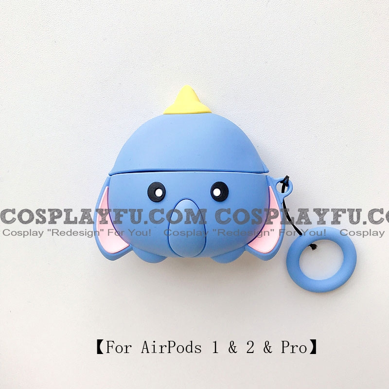 Lovely Dumbo | Airpod Case | Silicone Case for Apple AirPods 1, 2, Pro (81751)
