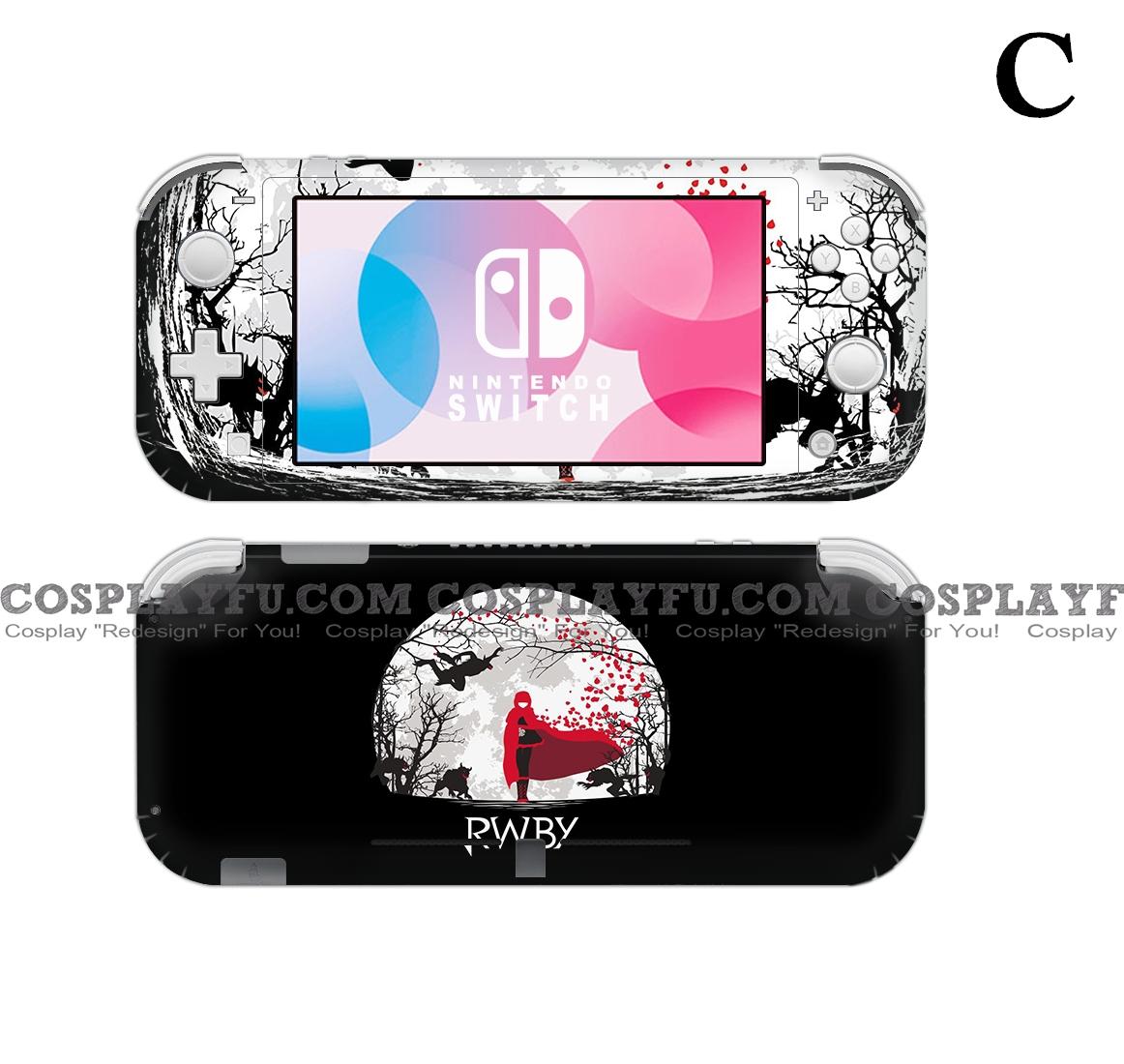 Lite Skin RWBY - Nintendo Switch Lite Decal NS Skin Sticker