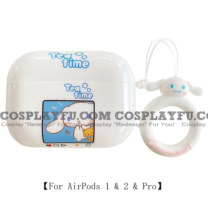 Lovely Cinnamoroll | Airpod Case | Silicone Case for Apple AirPods 1, 2, Pro Cosplay (81808)