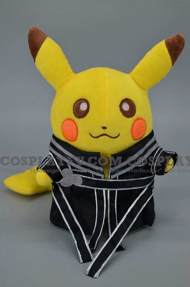 Kirito Pikachu Plush from Sword Art Online