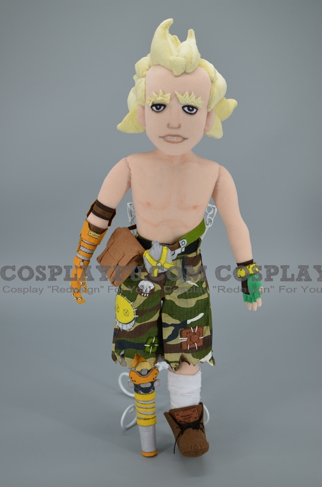 Classic Junkrat Plush from Overwatch
