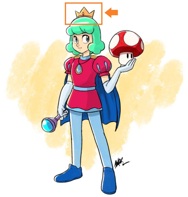 Prince Haru Crown from Super Mario Bros
