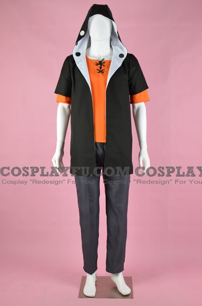 Kano Cosplay Costume (Black) from Kagerou Project