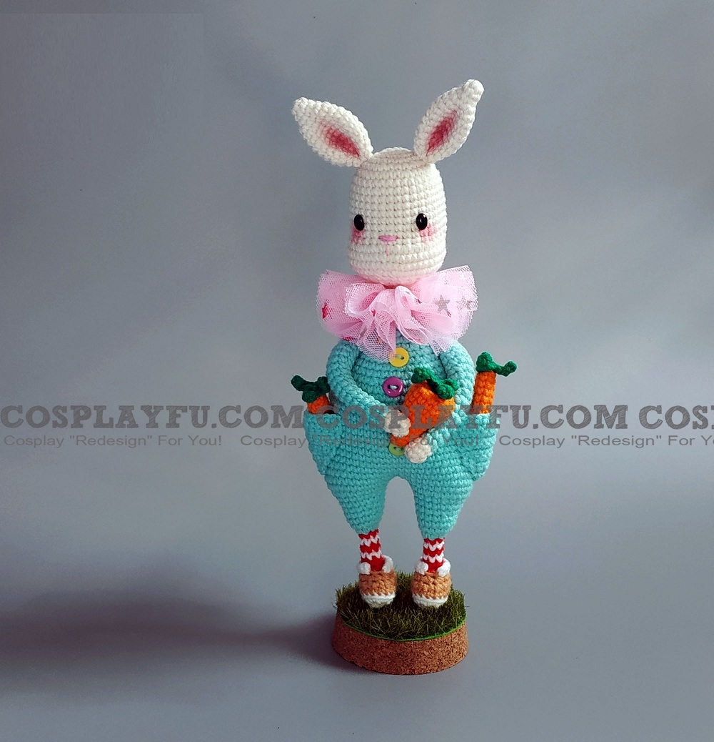 White Rabbit Plush from Rin-ne Alice in Wonderland