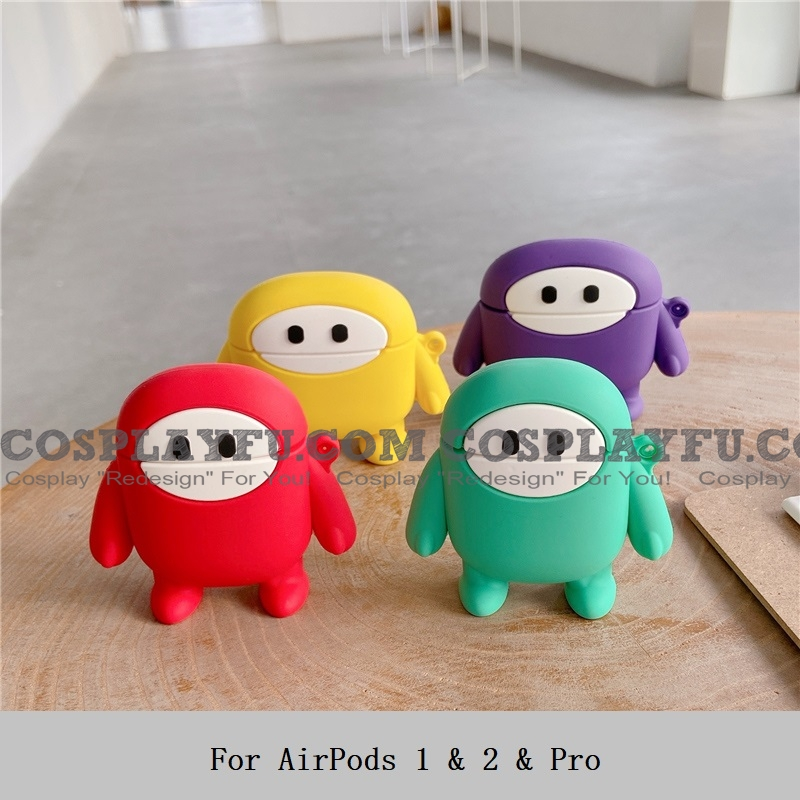 Lovely Colori Guys Airpod Case | Silicone Case for Apple AirPods 1, 2 e Pro Cosplay