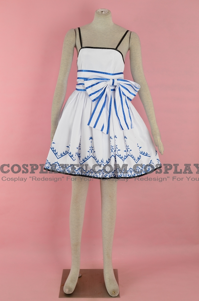 Cirno Cosplay Costume (2nd) from Touhou Fantasy