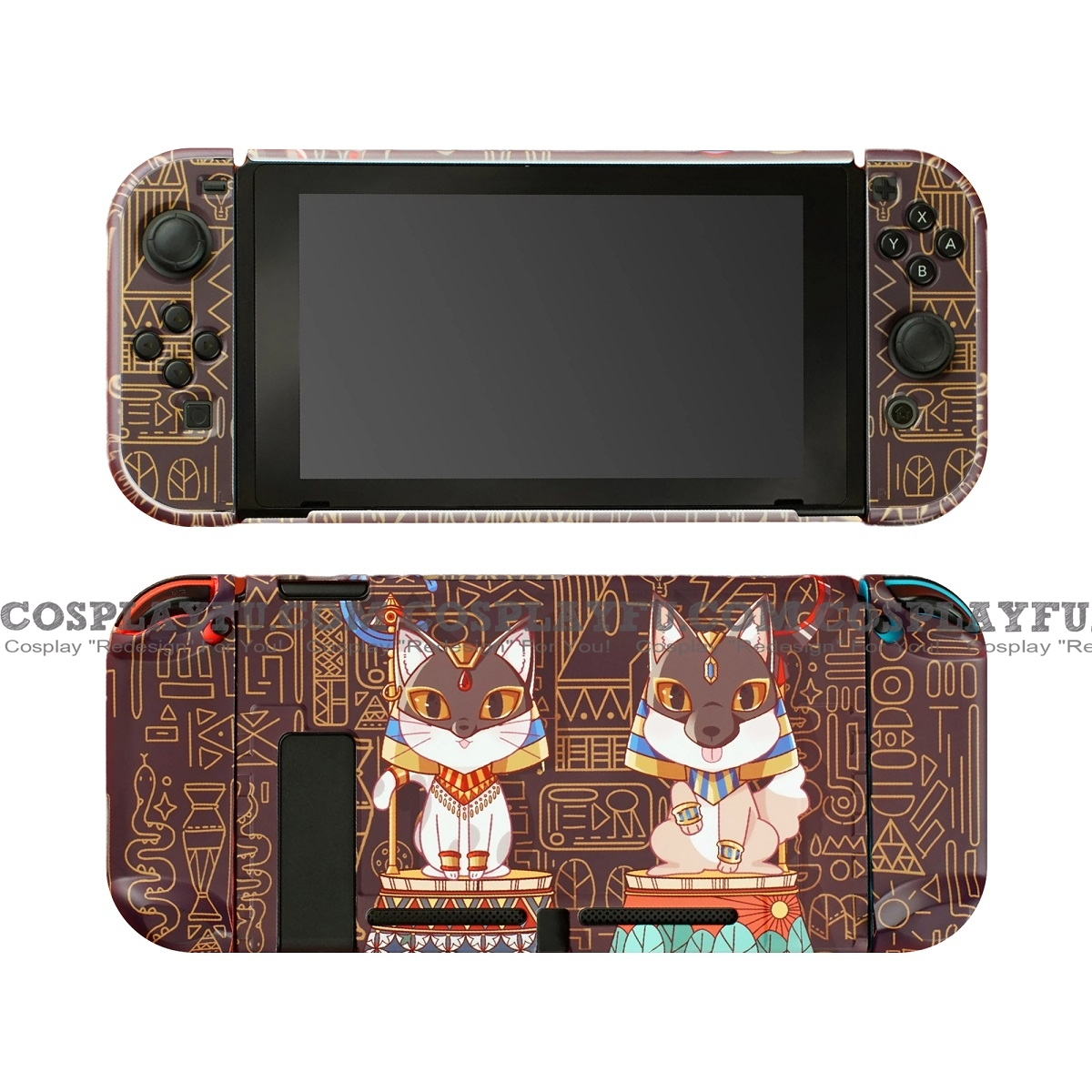Cute Egypt Cats Nintendo Switch Protection Cover - TPU