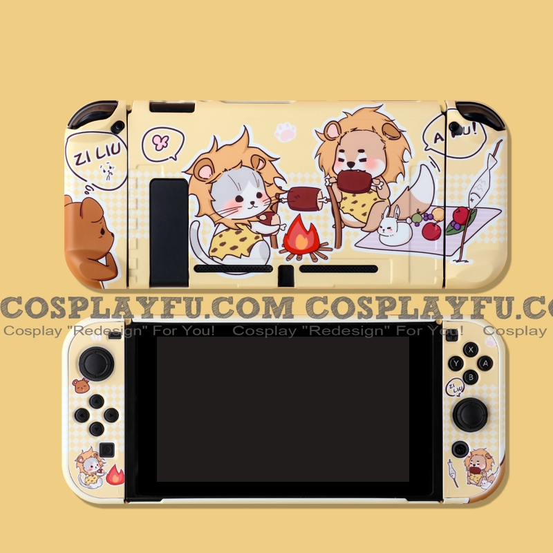 Cute Barbeque Savage Yellow Nintendo Switch Protection Cover - TPU
