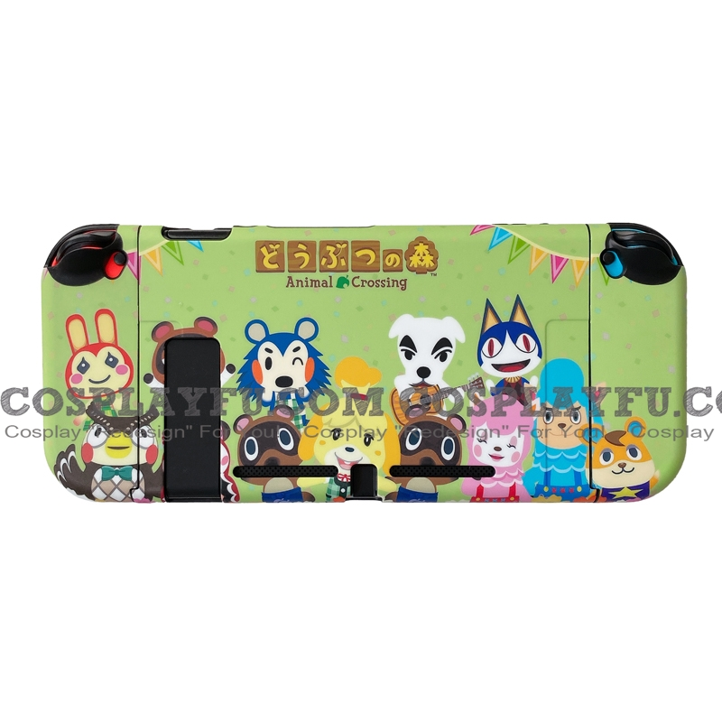 Green Animal Crossing ACNH Switch Shell Protection Cover
