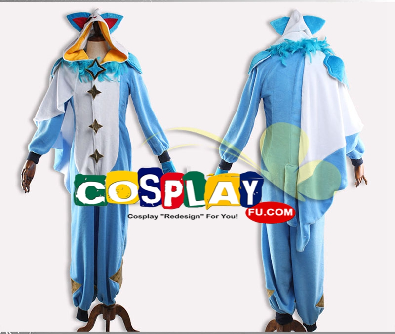 Pajama Guardian Ezreal Cosplay Costume from League of Legends