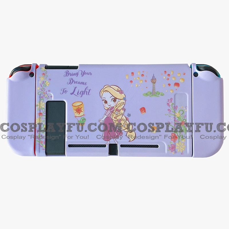 Purple Rapunzel Switch Shell Protection Cover TPU from Tangled