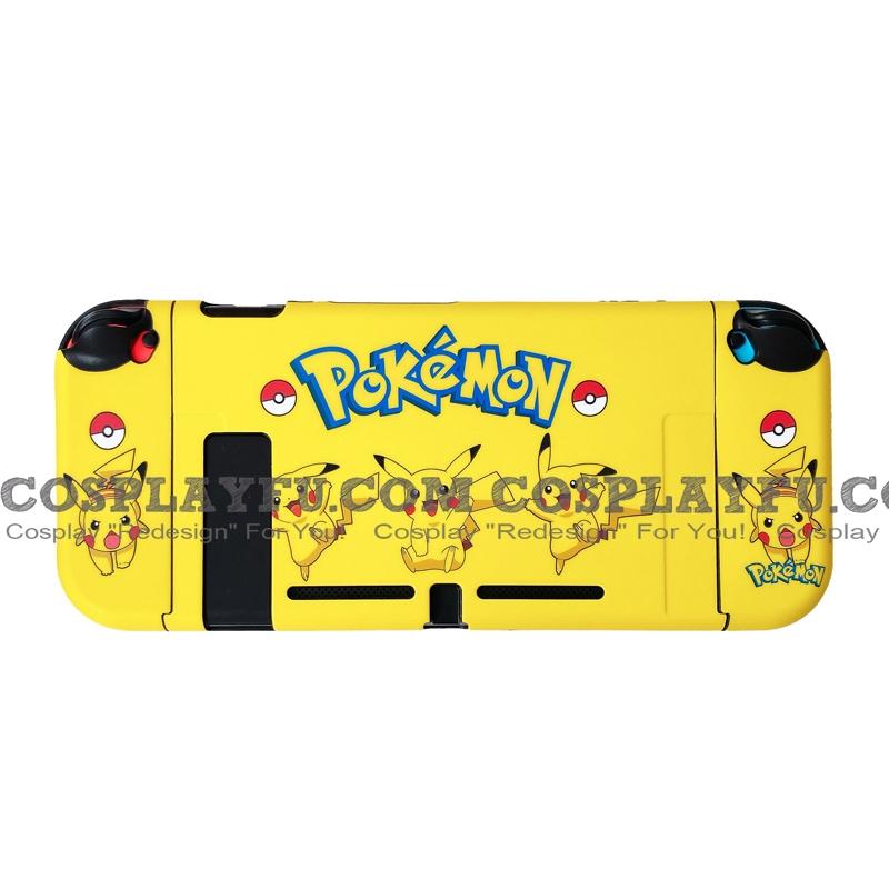 Yellow Pokemon Pikachu Switch Shell Protection Cover TPU