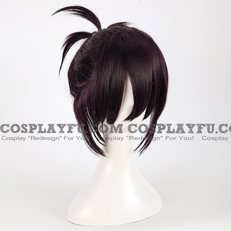 Yato Wig (3rd, Short, Pony Tail, Black) from Noragami