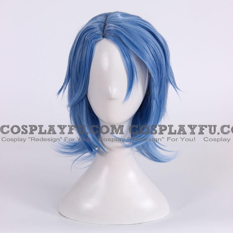 Aqua Wig (Short, Blue) from Kingdom Hearts
