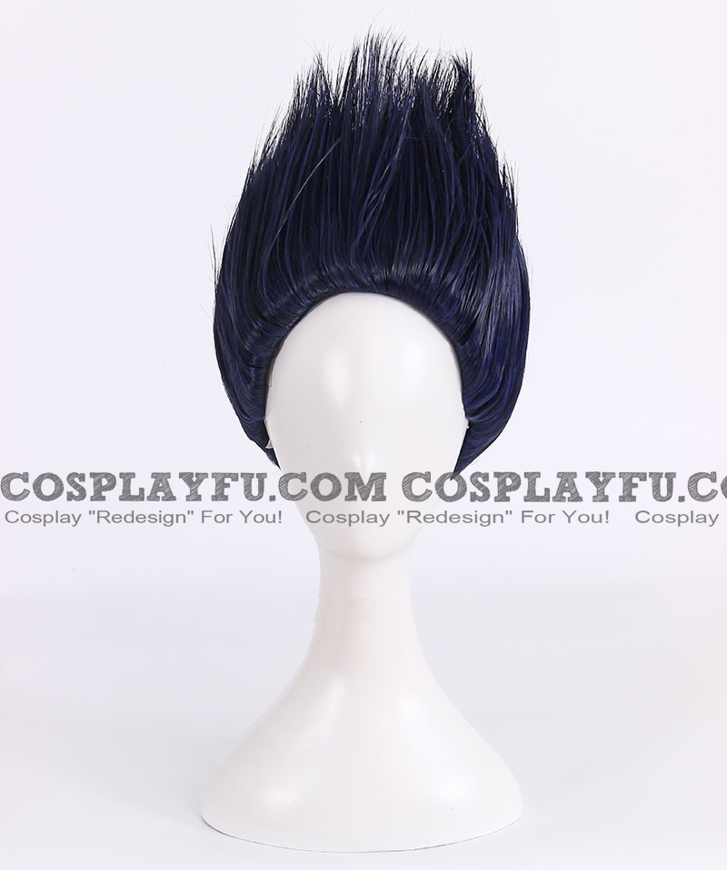 Kisame Wig (Short, Spike, Blue) from Naruto