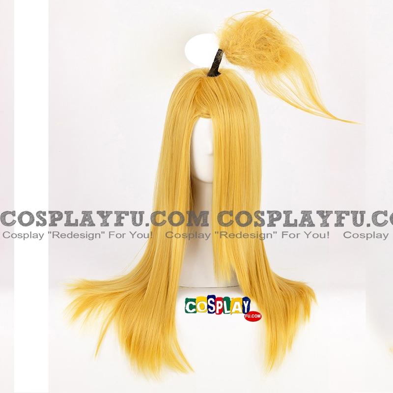 Deidara Wig (3rd, Long, Straight, Yellow) from Naruto