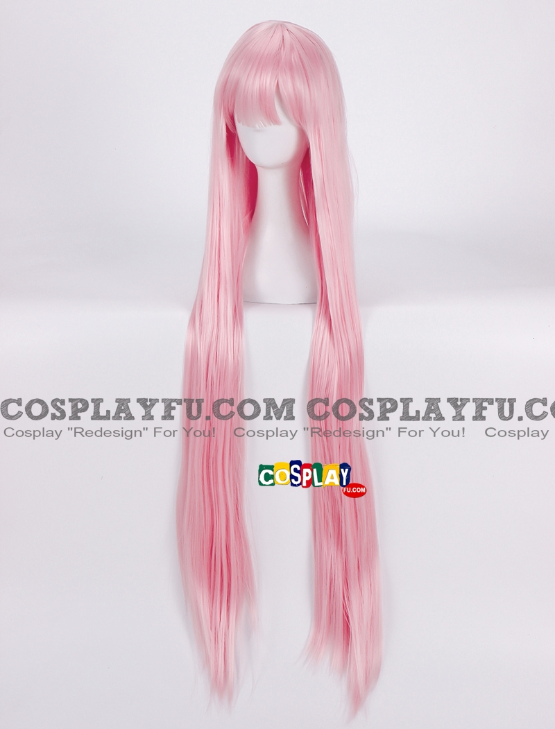Zero Two Wig (3rd, Long, Straight, Pink) from Darling in the Franxx