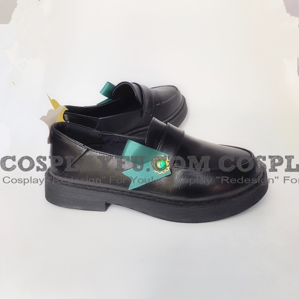Venti Shoes (3rd, Black) from Genshin Impact