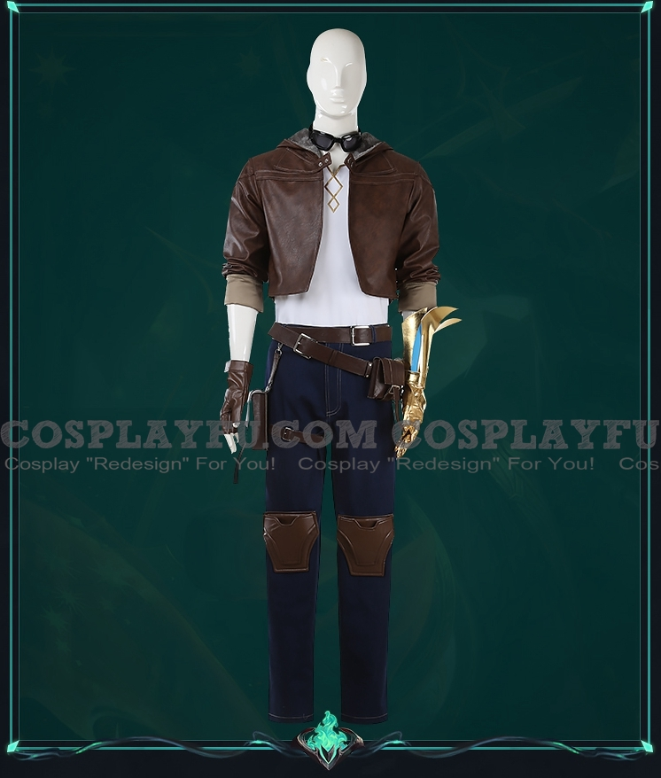 Original Ezreal Cosplay Costume from League of Legends