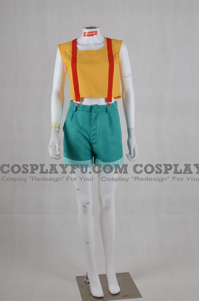 Misty Cosplay Costume from Pokemon